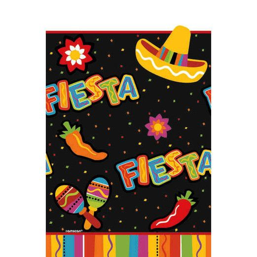 Fiesta Table Accessories Fiesta Fun Plastic Table Cover Image