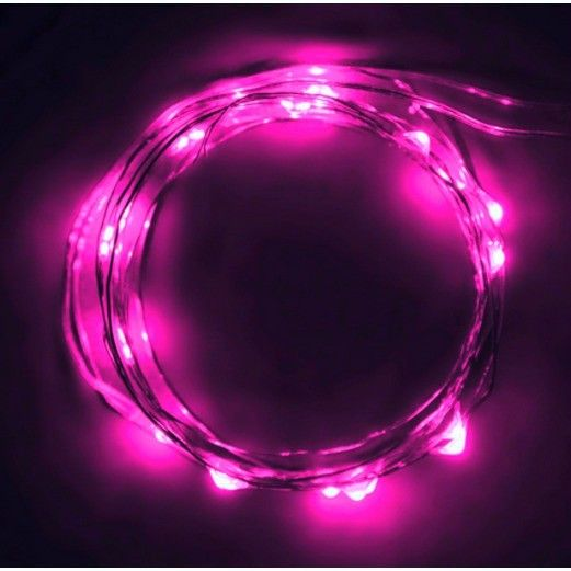 Pink String Lights Magnificent Party Supplies At Amols' Fiesta Party Supplies