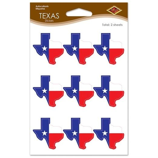 Western Decorations Texas Stickers Image