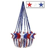 4th of July Decorations Red, White, and Blue Star Chandelier  Image