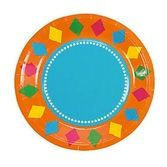 Fiesta Table Accessories Fiesta Party Dessert Plates Image