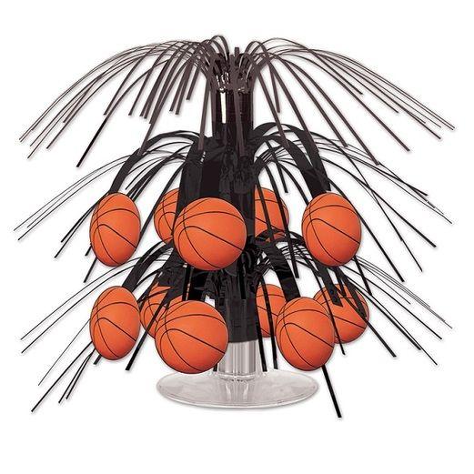 Sports Decorations Mini Basketball Cascade Centerpiece Image