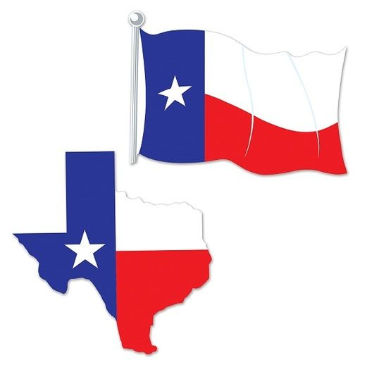 Western Decorations Texas Cutouts Image
