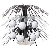 Sports Decorations Mini Volleyball Cascade Centerpiece Image