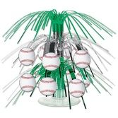 Sports Decorations Mini Baseball Cascade Centerpiece Image