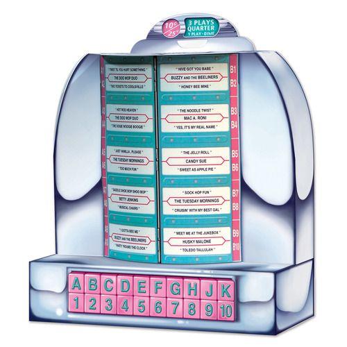 Jukebox Centerpiece