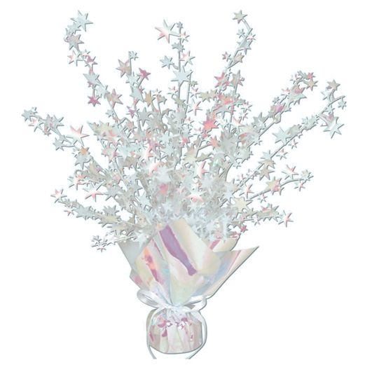 Wedding Decorations Iridescent Starburst Centerpiece Image