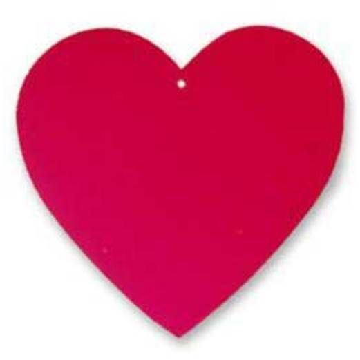 Valentine's Day Decorations Foil Red Heart Image