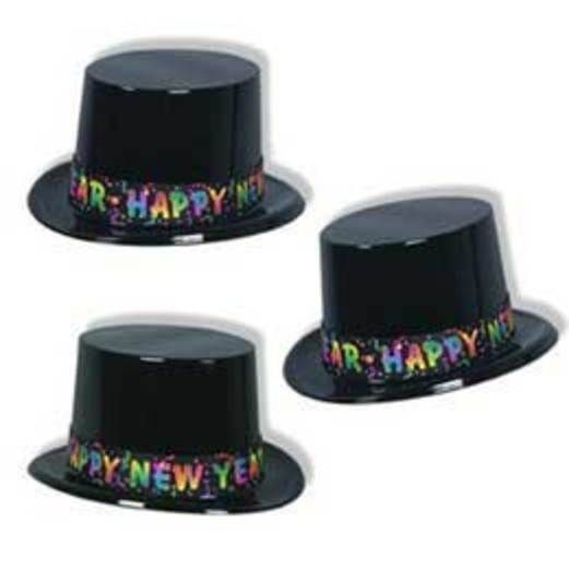 New Years Hats & Headwear Celebrate New Years Top Hat Image