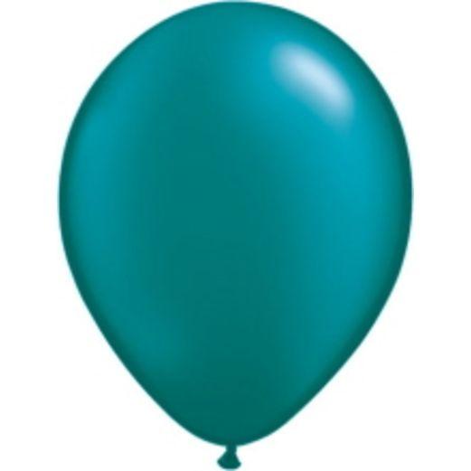 "Luau Balloons 11"" Pearl Teal Balloons (100/pkg.) Image"