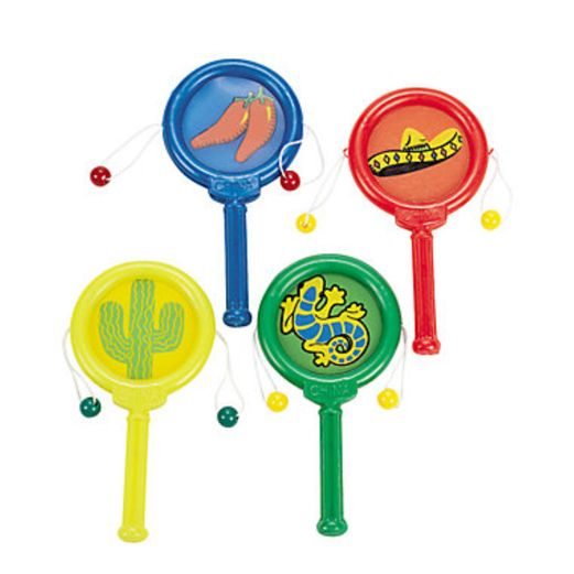 Cinco de Mayo Favors & Prizes Fiesta Noisemakers Image