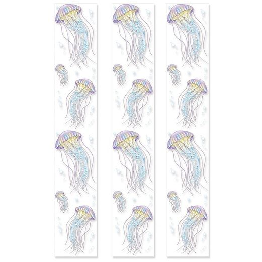Luau Decorations Jellyfish Party Panels Image