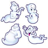 Halloween Decorations Fun-Ghost Cutouts Image