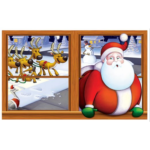 Christmas Decorations Santa Insta View Image
