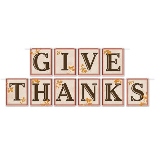 Give Thanks Streamer