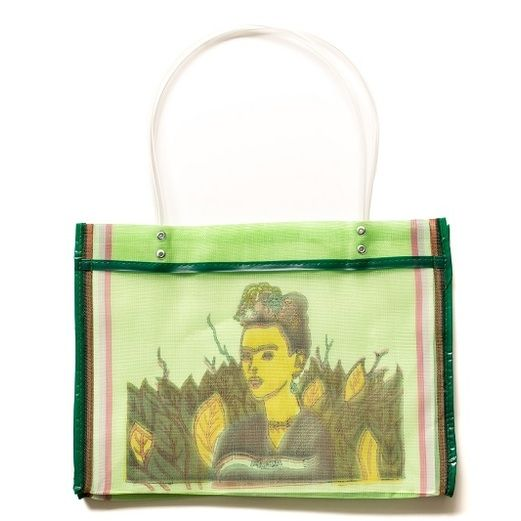 Cinco de Mayo Decorations Frida Square Mesh Bag Image