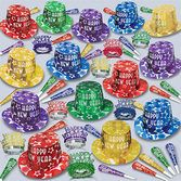 New Years Party Kits Gem Star Deluxe for 100 Image