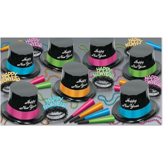 New Years Party Kits Neon Legacy for 50 Image