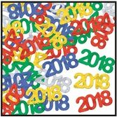 New Years Decorations 2018 Metallic Confetti Image