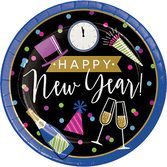 New Years Table Accessories New Year Cheers Dinner Plates Image
