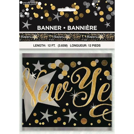 New Years Decorations Glittering New Year Banner Image