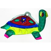Decorations Turtle Tin Ornament Image