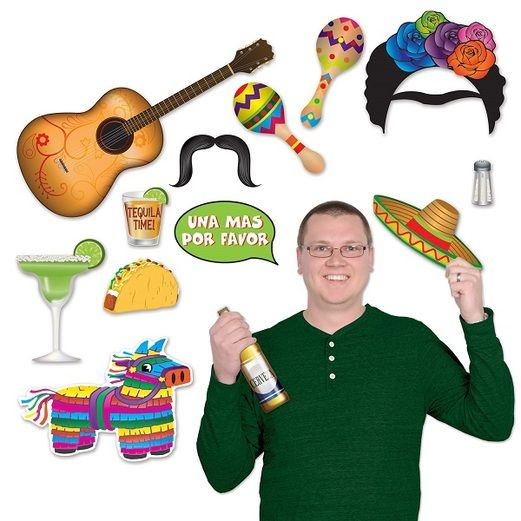 Cinco de Mayo Decorations Fiesta Photo Fun Signs Image