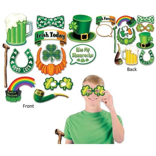 St. Patrick's Day Decorations St. Patrick's Day Photo Fun Signs Image