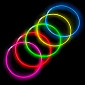 "Glow Lights 22"" Assorted Color Glow Necklaces Image"