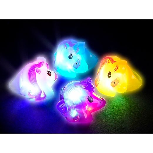 Glow Lights Unicorn Light Up Ring Image