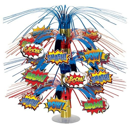 Birthday Party Decorations Hero Cascade Centerpiece Image