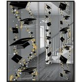 Graduation Decorations Grad Caps Party Panels Image