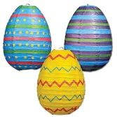Easter Decorations Easter Egg Paper Lanterns Image