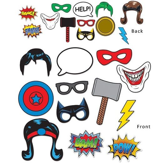 Birthday Party Decorations Hero Photo Fun Signs Image