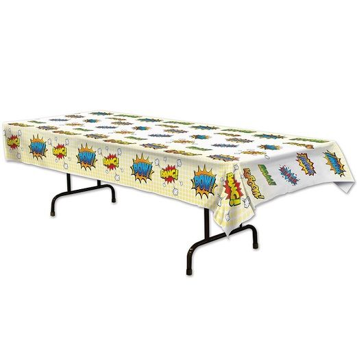 Birthday Party Table Accessories Hero Tablecover Image