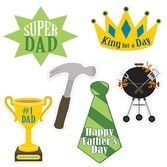 Decorations Father's Day Cutouts Image