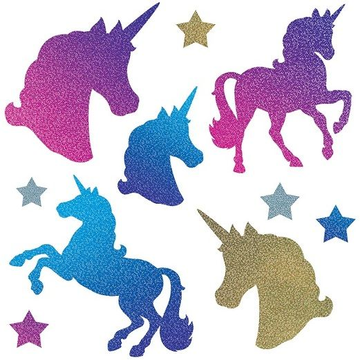 Decorations Unicorn Cutouts Image
