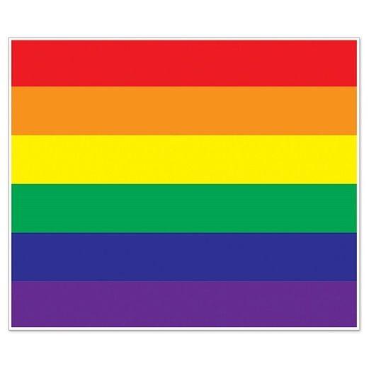 Decorations Rainbow Insta-Mural Photo Op Image