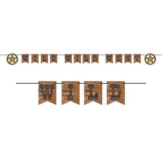 Western Decorations Wild West Streamer Image