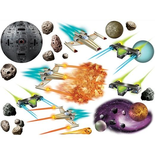Birthday Party Decorations Galaxy Props Image