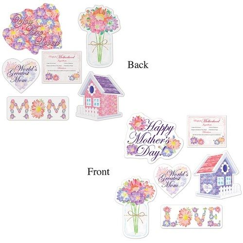 Mother's Day Cutouts