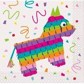 Fiesta Table Accessories Mexican Fiesta Beverage Napkins Image