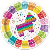 "Fiesta Table Accessories Mexican Fiesta 9"" Plates Image"