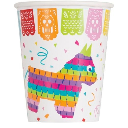 Fiesta Table Accessories Mexican Fiesta Cups Image