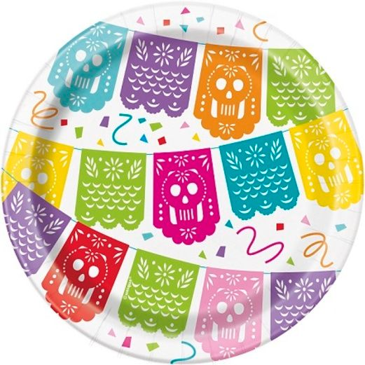 "Fiesta Table Accessories Mexican Fiesta 7"" Plates Image"