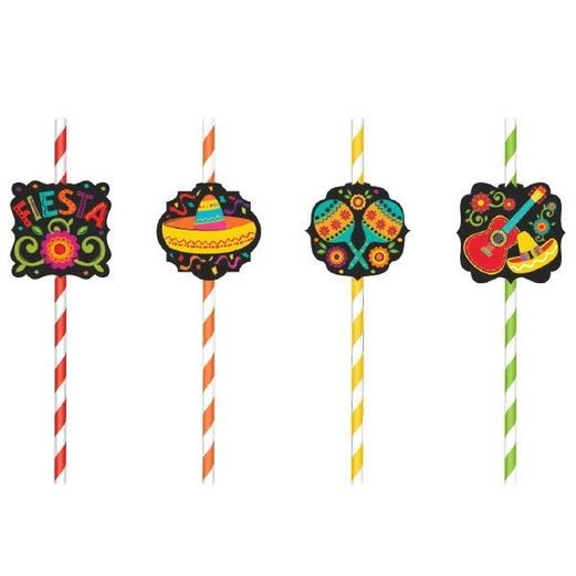Fiesta Table Accessories Fiesta Paper Straws  Image