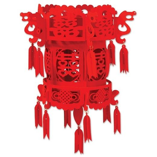 Decorations Felt Chinese Palace Lantern Image