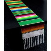 St. Patrick's Day Table Accessories Saint Patrick's Day Serape Table Runner Image