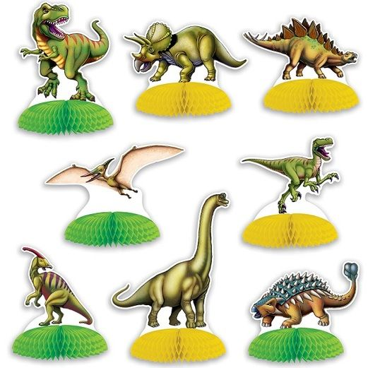 Birthday Party Decorations Dinosaur Mini Centerpieces Image