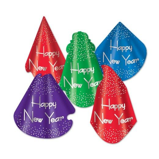 New Years Hats & Headwear Headliner Cone Hat Image